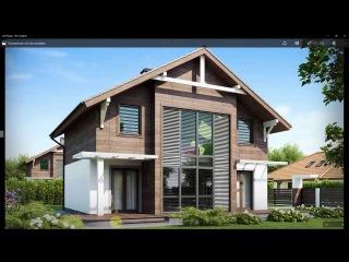 Урок 3ds Max Моделирование дома. Часть 3