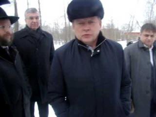В русской Перми - разговор губернатора Басаргина В. и главного раввина России  с жителями города