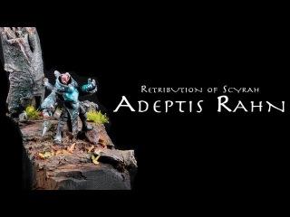 Painting Warmachine & Hordes: Retribution of Scyrah Adeptis Rahn