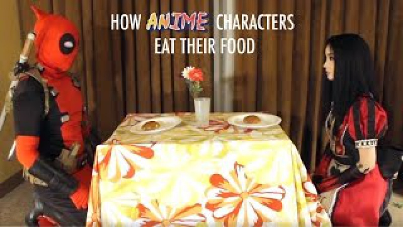 How Anime Characters Eat Their Food With Alodia Gosiengfiao