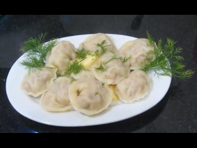 Пельмени с мясом ẩm thực Nga Há cảo cách làm bánh Pelmeny đặc sản Nga Món ăn SủiCảo vỏ bánh hácảo