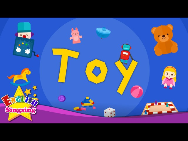 Kids vocabulary Toy toy vocab Learn English for kids English educational video