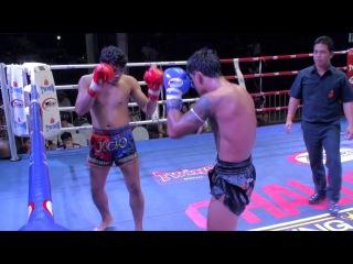 Wanghinlek (Tiger Muay Thai) vs Jocho (Rawai Supa Muay Thai) @ Chalong Boxing Stadium 29/3/16