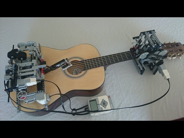 Little Talks Guitar Cover by Lego Mindstorms EV3