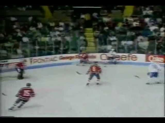 Квебек Нордикс v ЦСКА 5-5_1988_ Quebec Nordiques v Red Army