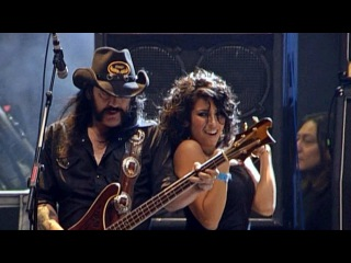 Motrhead (Feat Nina C Alice) Killed by Death live Wacken 2009