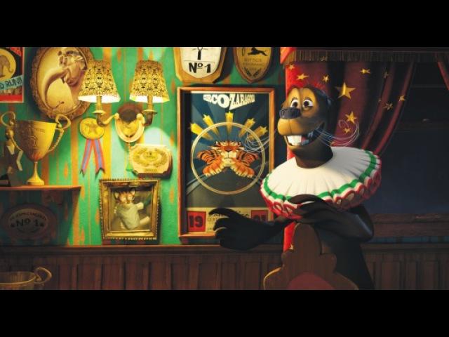 Видео к мультфильму Мадагаскар3 2012 Трейлер №2 дублированный