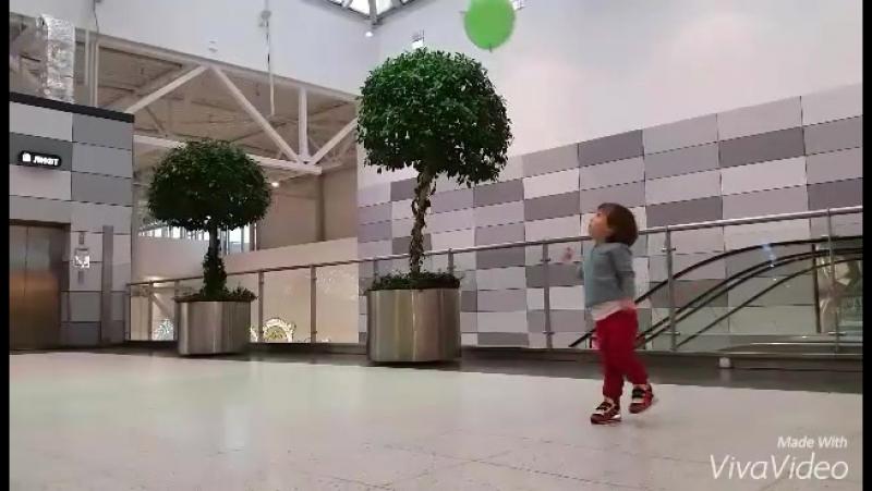 мой маленький волейболист