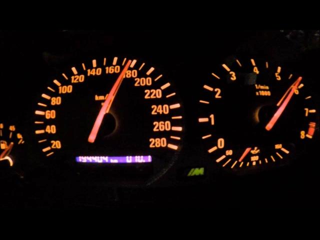 Bmw M3 E36 top speed 0 280 1 4bar 2jz
