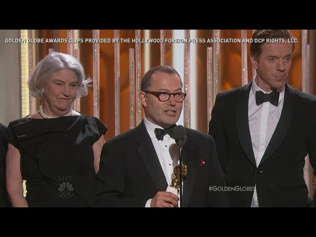 Золотой глобус 2016 Лучший минисериал или телефильм Волчий зал Golden Globes 2016 British drama 'Wolf Hall' wins award