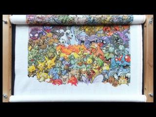 Cross stitch - Pokemon first generation
