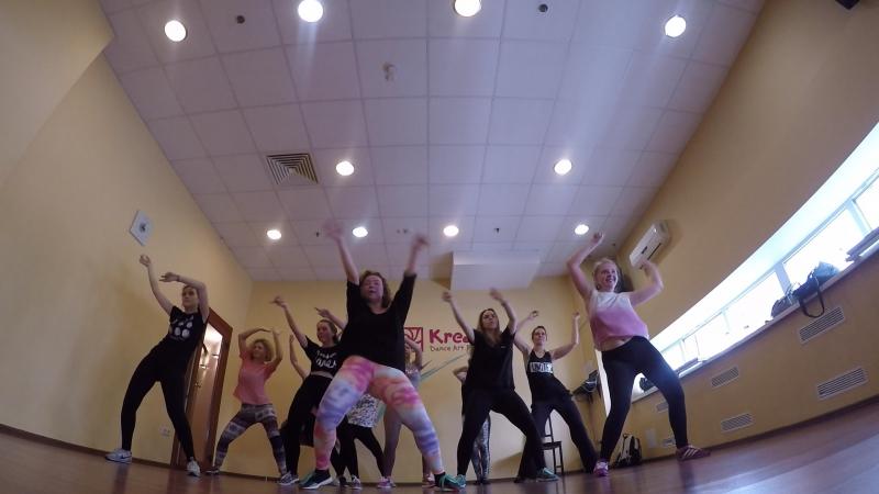 День открытых дверей в школе танцев Креатив Reggaeton choreo by JuliYago