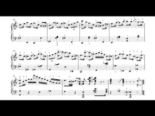 Happy Birthday, piano by Denis Matsuev. FULL SCORE
