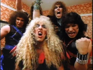 Twisted sister we're not gonna take it