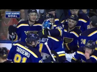 NHL PLAYOFFS: St. Louis vs. Chicago (Game One - OVERTIME) Apr 13, 2016