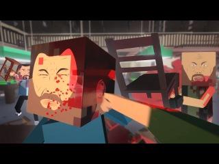 жоские майнкрафтеры игры #3