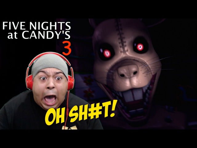 A F %KING RAT B TCH FIVE NIGHTS at CANDY'S 3 DEMO COMPLETED