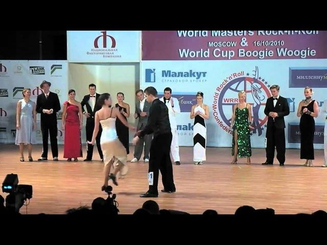 Marcus Kakuska Jessica Kaiser, final slow, 16102010, World Cup BW in Moscow