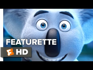 Sing Featurette - Buster (2016) - Matthew McConaughey Movie