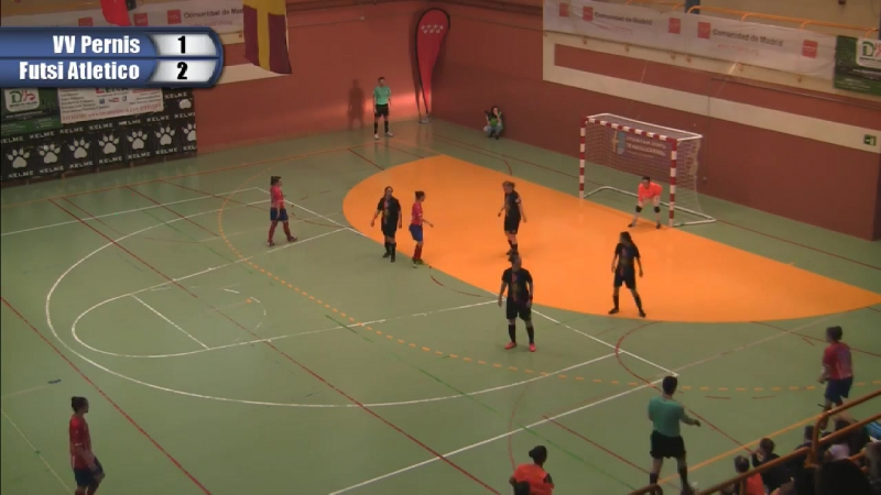VV. Pernis - Futsi Atletico Navalcarnero _ I EUROPEAN WOMEN'S FUTSAL TOURNAMENT
