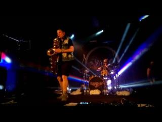 AMAZING!! Leo P & Kevin Congleton - Baritone Sax & Drum Duo  (Lucky Chops)