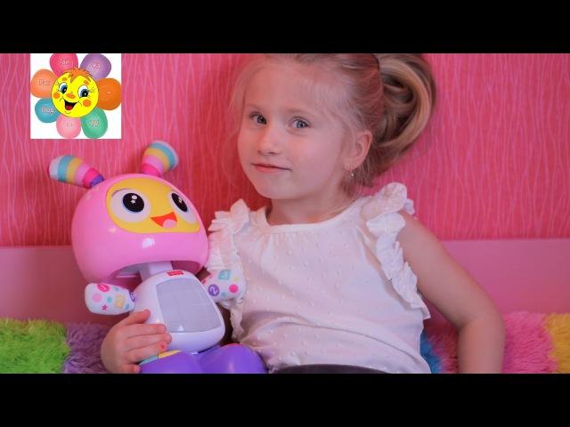Интерактивная игрушка Обучающий РОБОТ БитБо ELSA BeatBo Fisher Price Robita Robotita