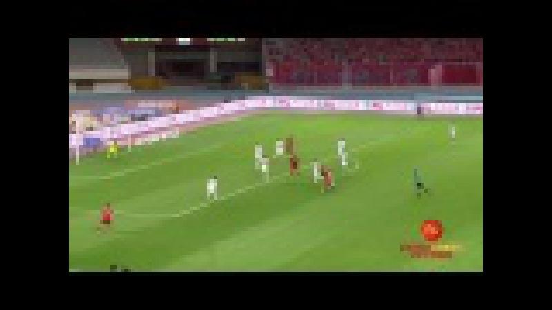 Gol Hulk Shanghai SIPG x Guizhou Zhicheng 8a rodada da Super Liga da China 2017