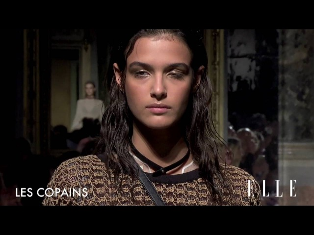 Ma Ego Models Anna Vivchar for Les Copains SS17 Milano collection