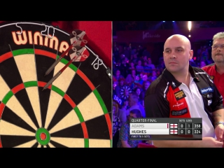 Martin Adams vs Jamie Hughes (BDO World Darts Championship 2017 / Quarter Final)