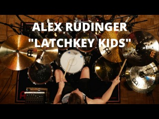 "Meinl Cymbals Alex Rudinger ""Latchkey Kids"" Drum Video"