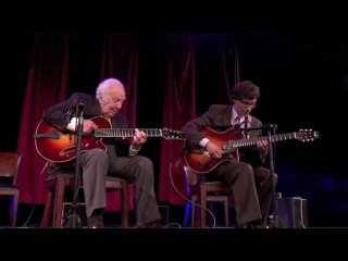 Frank Vignola and Bucky Pizzarelli perform Moonglow