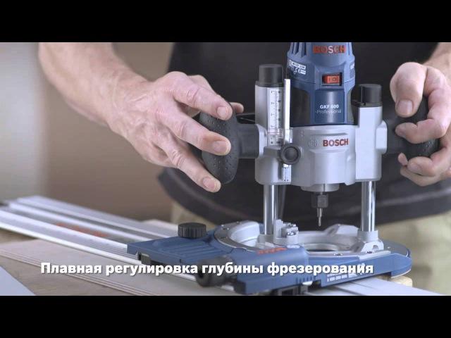 Кромочный фрезер BOSCH GKF 600 - TE 600 Professional