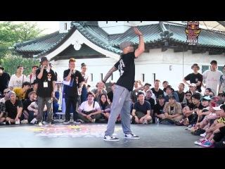 Jr boogaloo(USA) Judge Move | SAMURAI WORLD FINAL  | Red Bull BC One Camp Japan 2017 |