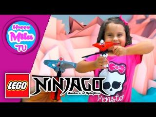 HappyMilaTV #270 | Лего Ниндзя Го - Мастера Спинждитсу