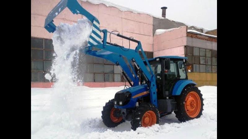 RASCO - оборудование для уборки снега и льда на многоцелевом тракторе АГРОМАШ-85ТК (1...
