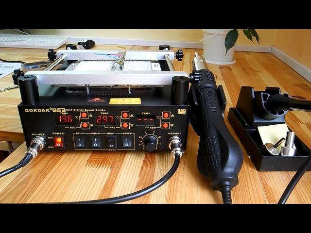 Паяльная станция GORDAK 863 незаменима в ремонте электроники » FreeWka - Смотреть онлайн в хорошем качестве