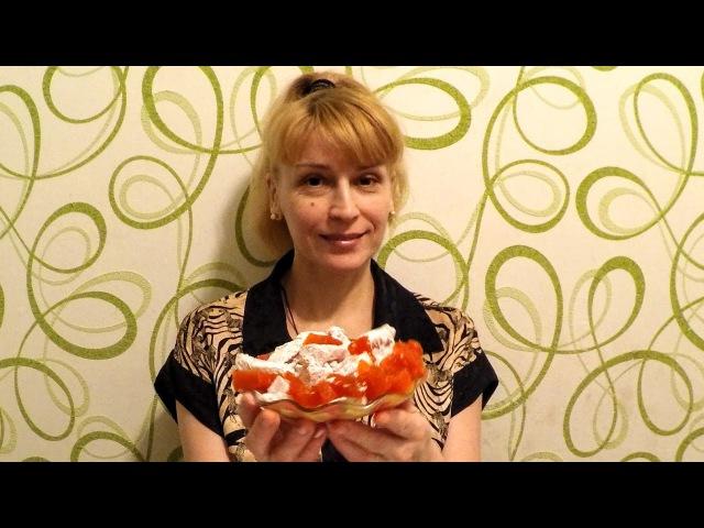 Цукаты из тыквы на праздничный новогодний стол к чаю на десерт