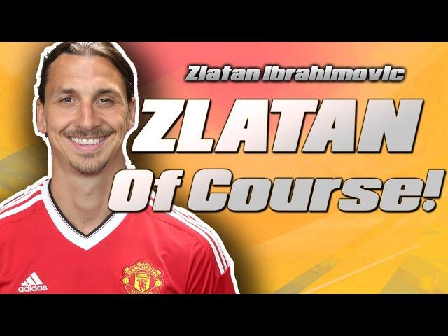 ⚽️ I'M ZLATAN ⚽️ Zlatan Ibrahimovic Joins Manchester United Zlatan Ibrahimovic Song GameJam