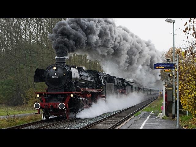 Dampfsonderzüge auf der Schiefen Ebene und viel Güterverkehr im Frankenwald