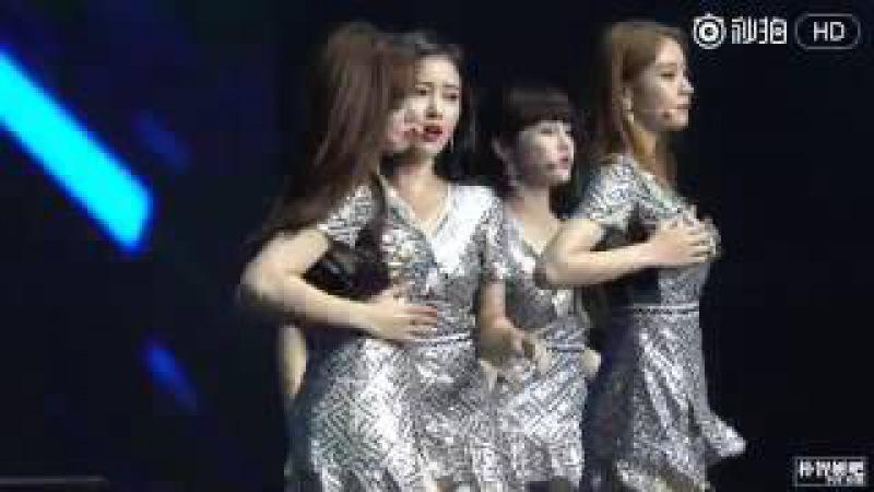 160917 Fancam T-ara Jiyeon (No9) - Shanghai concert by PJYBAR