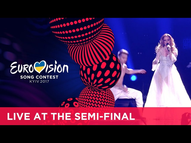 Tijana Bogićević In Too Deep Serbia LIVE at the second Semi Final