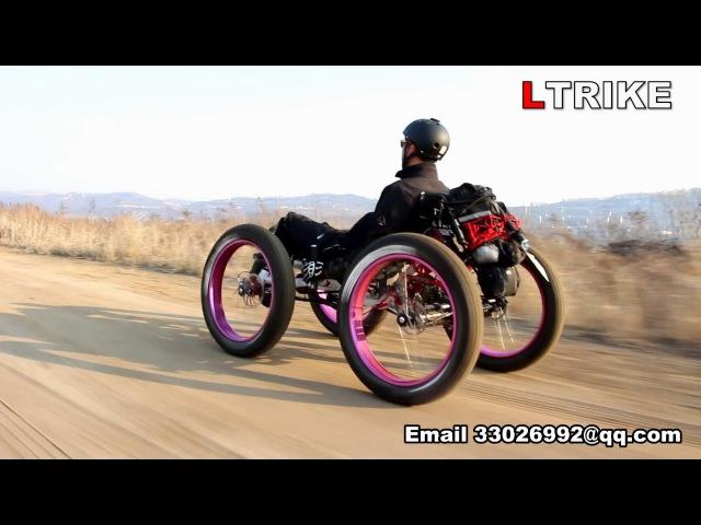 TrikExplor 4×4 Fat Tire Recumbent Quad Cross The East Open pit