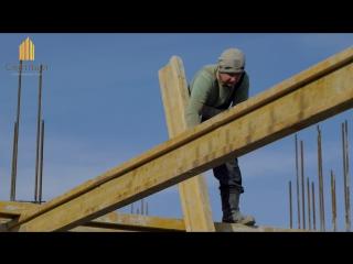 Видео-дневник со строительных площадок  Строительного союза Светлый. Выпуск 1.