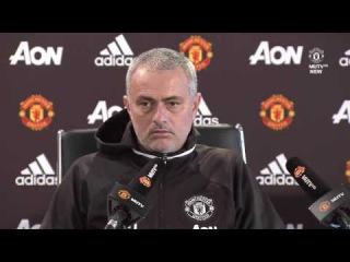 Jose Mourinho's Pre-Match Press Conference - Manchester United vs Leicester City