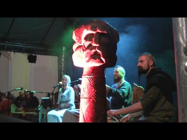 Szczecin Noc Kupały 2017 - Percival początek koncertu