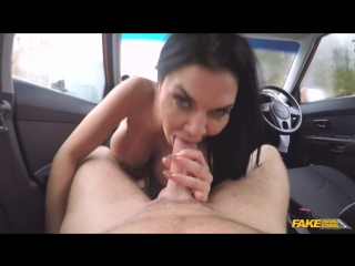 FakeDrivingSchool Jasmine Jae Lad Distracted by Pussy on Test Sex in Car Blowjob Hardcore Big Tits MILF New Porn 2017