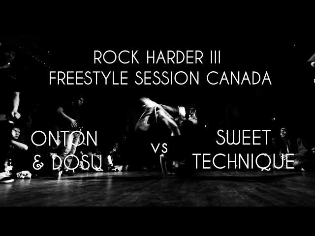 Finals Onton Dosu vs Sweet Technique FSS Canada 2v2 BBOY NORTH