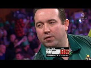 Michael van Gerwen vs Brendan Dolan (Grand Slam of Darts 2016 / Quarter Final)