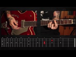 Sasha Rock'n'Roll guitar lessons- Ramones (Do You Remember Rock'n'Roll Radio) видео урок №8 tutorial