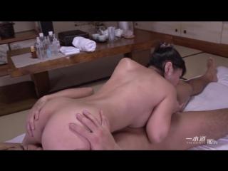 Asian masseuse servesr client (creampie, blowjob, cumshot, кремпай, азиатки, сперма в киске, кончают внутрь)